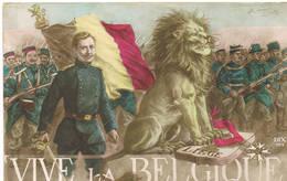 324 Vive La Belgique - Guerre 1914-18