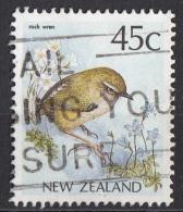 924 Nuova Zelanda 1988 Native Birds Uccelli Rock Vren New Zealand