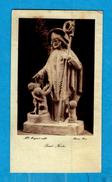 ** SAINT NICOLAS ** Sculpture De Mlle MONGINOT -  Editeur : BRAUN De Paris - Images Religieuses