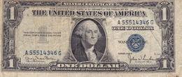 "USA 1 $ DOLLAR 1935D SILVER CERTIFICATE G-VG ""free Shipping Via Regular  Air Mail (buyer Risk)"" - Certificati D'Argento (1928-1957)"