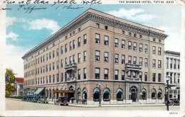 OHIO - TIFFIN, THE SHAWHAN HOTEL, Karte Gel.1931, 2 Fach Frankierung - Etats-Unis
