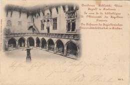 KRAKAU - Der Hofraum Der Jagiellonischen Universitätsbibliothek, Karte Gel.1900 - Polen