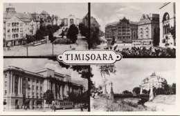 TIMISOARA (Rumänien) - 4 Bilder Fotokarte, Frankiert - Rumänien