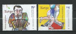 Argentina 2006 Joint Issue With France - Tango.accordion.MNH - Argentina