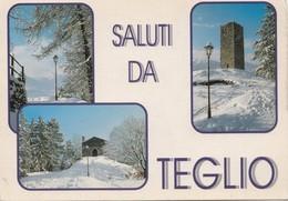 Saluti Da TEGLIO, Used Postcard [19533] - Sondrio