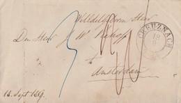 Preussen Brief K2 Creuznach 18.9. Gelaufen Nach Amsterdam - Preussen