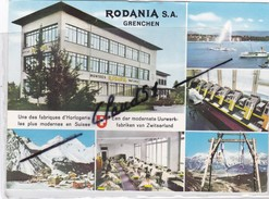Suisse: RODANIA S.A. -GRENCHEN .Une Des Fabriques D'Horlogie Les Plus Moderne De Suisse - SO Soleure