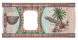 CIRC9- MAURITANIE BILLET DE BANQUE 200 OUGUIYA 28/11/2001 NON CIRCULE TTB - Mauritania