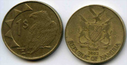 Namibie Namibia 1 Dollar 2002 KM 4 - Namibie