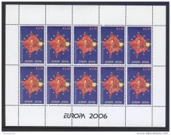 Kosovo - 2006 Europa 50c Kleinbogen MNH__(FIL-7319)