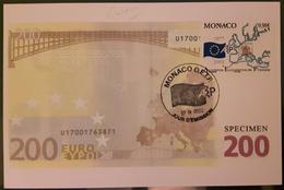 = Académie Européenne De Philatélie Carte Postale 1er Jour Monaco 22.IV.02 N°2346 - Cartoline Maximum