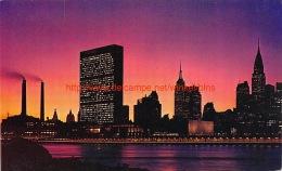 Mid-Manhattan Skyline New York - NY - New York