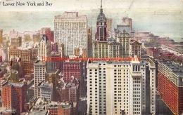 Lower New York And Bay - NY - New York