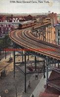 110th Street Elevated Curve New York - NY - New York