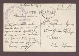 Franchise Militaire Service Santé * 17eme Corps D'Armée Hôpital Auxiliaire N° 134  Castera Verduzan * Castéra GERS  1915