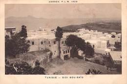 Afrique TUNISIE - SIDI BOU SAÏD -ETAT = Voir Description  (Editions :Agenda PLM 1928)  *PRIX FIXE - Tunisia