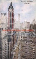 Broadway Downtown New York - NY - New York