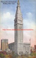 Metropolitan Life Insurance Building New York - NY - New York