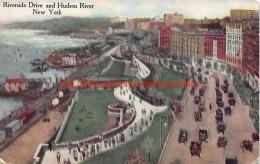 Riverside Drive And Hudson River New York - NY - New York