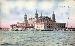 Ellis Island New York - NY - New York