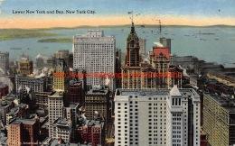 1920 Lower New York And Bay - NY - New York
