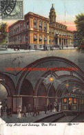 1909 City Hall And Subway New York - NY - New York