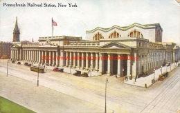 1919 Pennsylvania Railroad Station New York - NY - New York
