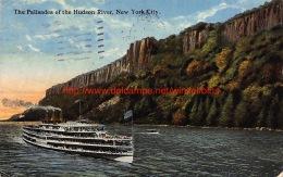 1922 The Palisades Of The Hudson River New York City - NY - New York