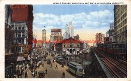 1919 Herald Square Broadway And Sixth Avenue New York City - NY - New York