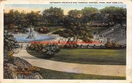 1920 Bethesda Fountain And Terrace Central Park New York - NY - New York