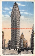 1919 Flat Iron Building New York City - NY - New York