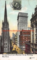 1909 Trinity Church And American Surety Building New York - NY - New York