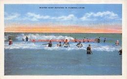 Winter Surf Bathing In Florida - Etats-Unis