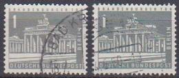 Berlin 1956 MiNr.140x + Y   O Gest.Berliner Stadtbilder ( B 167 ) - Used Stamps