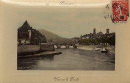 CPA   PHOTO    25   BESANCON---Barrage Sur Le Doubs---1909 - Besancon