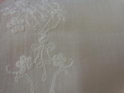 1 Rideau  220 X 60 Cm Couleur Ecru- Belle Decoration Broderie - Drapery