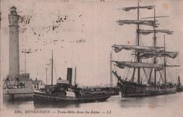 CP DUNKERQUE - 1925 - Trois Mâts Dans Les Jetées - N°139 - LL - Dunkerque