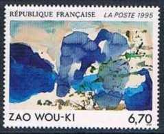 France 1995 Yt N°2928 MNH ** Zao Wou-Ki - France