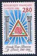 France 1995 Yt N°2967 MNH ** Grande Loge Feminine - France