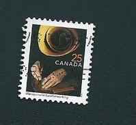 N° 1657 Metier Et Savoir Faire, Marqueterie TIMBRE Stamp Canada (1999) Oblitéré