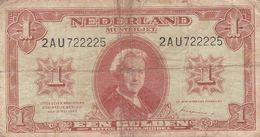 Netherlands 1 Gulden 1945 G P-70 - [2] 1815-… : Kingdom Of The Netherlands