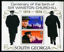 1974 - GEORGIA DEL SUD -  Catg.. Mi. BL 1 - NH - (UP554641.85.21) - Georgia Del Sud