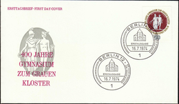 Germany Berlin 1974 / 400 Years High School To The Gray Monastery / 400 Jahre Gymnasium Zum Grauen Kloster - Childhood & Youth