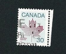 N° 795 La Feuille D'érable TIMBRE Stamp Canada (1982) Oblitéré