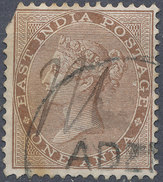 Stamp   India 1855-65 Queen Victoria 1a Used Lot#20 - India (...-1947)