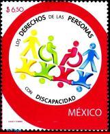 Ref. MX-2554 MEXICO 2007 HEALTH, RIGHTS DISABLED PERSONS,, HANDICAPS, DEFICIENT, MNH 1V Sc# 2554