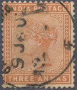 Stamp   India   Queen Victoria Used Lot#30 - India (...-1947)