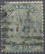 Stamp   India   Queen Victoria Used Lot#31 - India (...-1947)