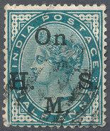 Stamp   India   Queen Victoria Used Lot#34 - India (...-1947)