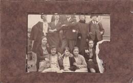 CATANIA - FOTOGRAFIA DELLA FAMIGLIA FINOCCHIARO INVIATA ALLA FAMIGLIA MISTRETTA - ANNO 1927 CON DIDASCALIA SUL RETRO - Persone Identificate